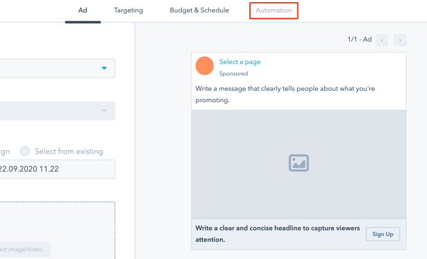 Embed workflows to your lead generation campaigns.