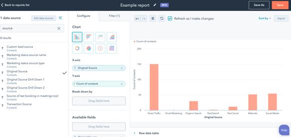 Uusi raportointityökalu tuo uusia mahdollisuuksia HubSpotin käyttäjille
