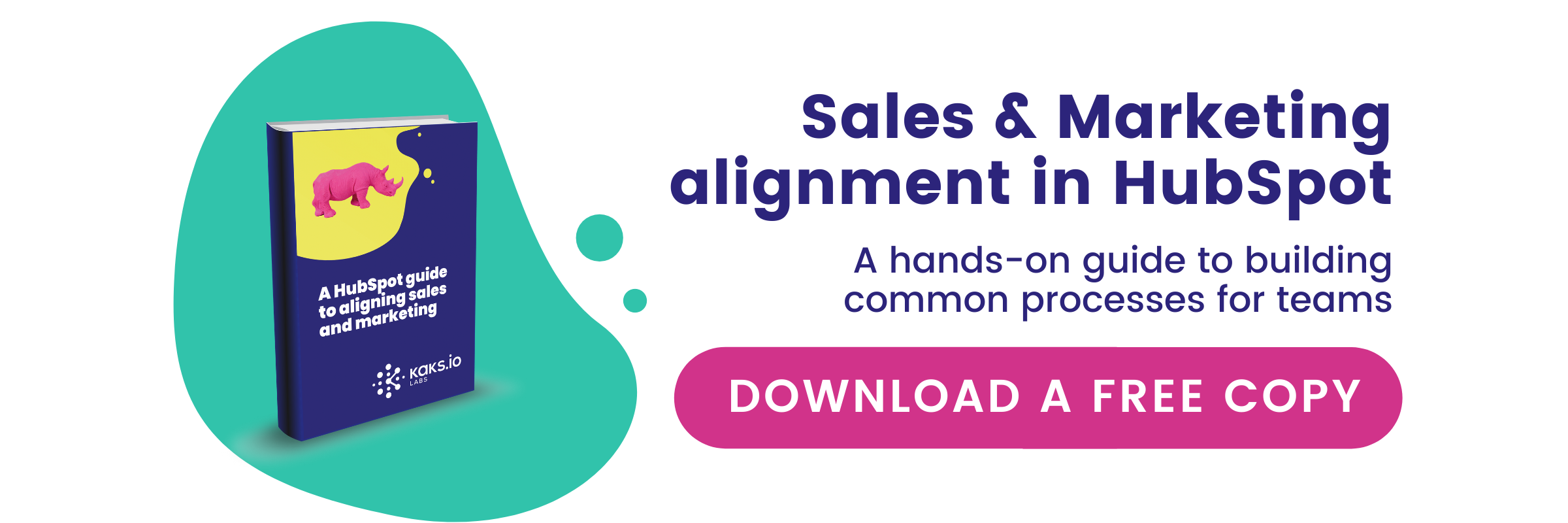Sales and marketing alignment in HubSpot free guide