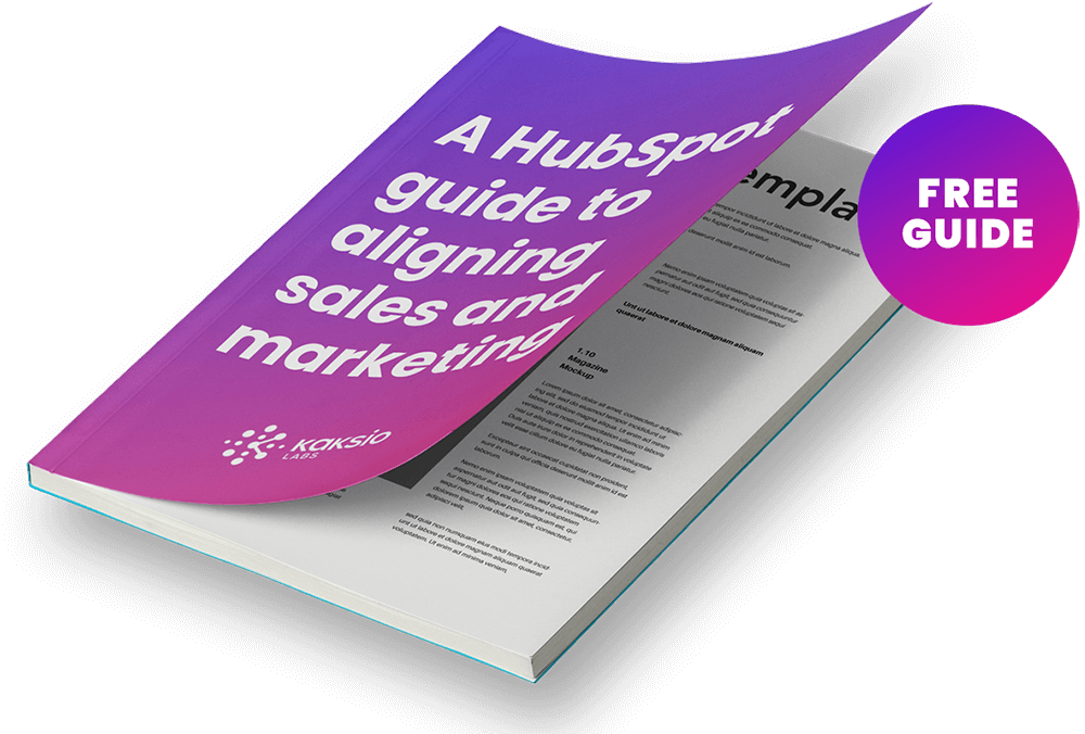 Free guide - Sales and marketing alignment in HubSpot