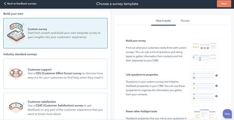 HS Updates Sep_Custom Surveys