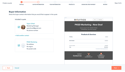 Kaks.io HubSpot Quotes & E-sign functions