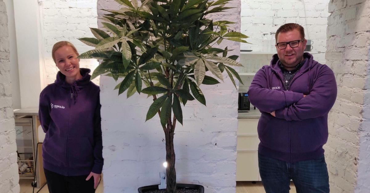 Kaks.io Labs' new team members: Jens Sundell and Satu Mäkelä